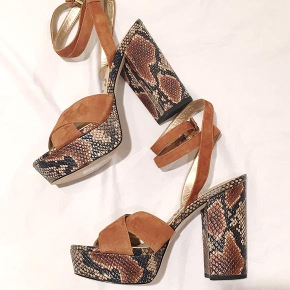 2a007d7261cf NWT  Sam Edelman  Platform Sandal Heels 7.5
